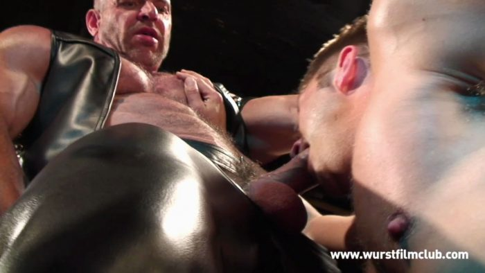 Gay Leather Pissing