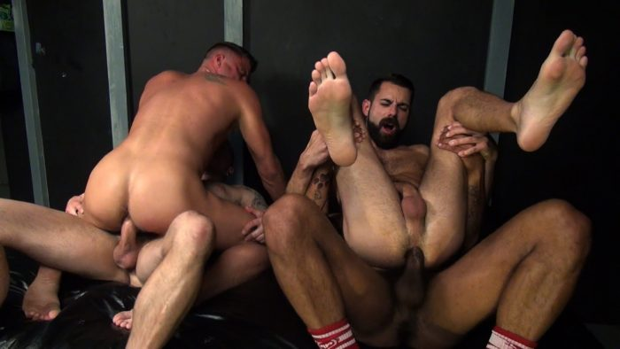 Gay Bare Back Anal Sex