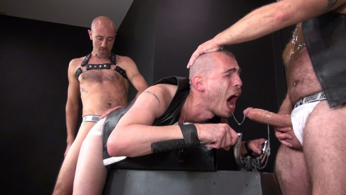 Leather Anal Sex