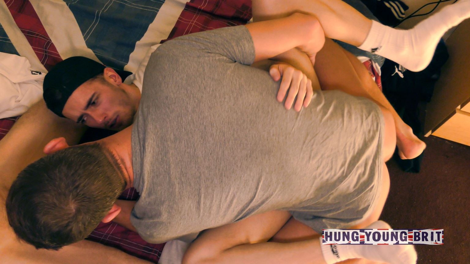 George And James Double Fuck Tobias For Hung Young Brit 2