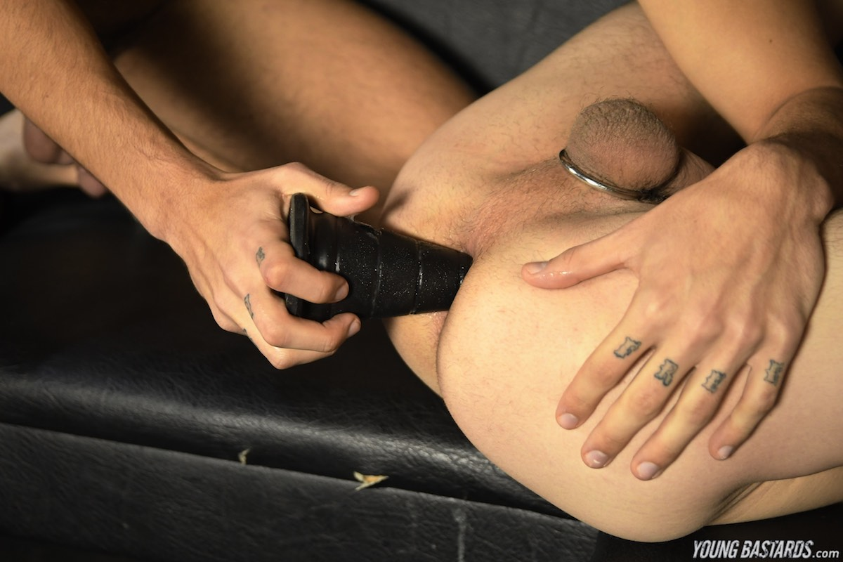 Alex Roman - Huge Dildos and Double Anal