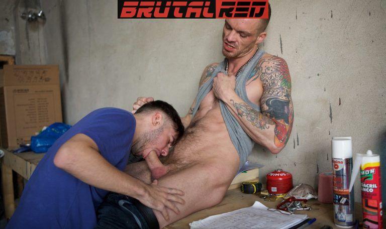 Rough Workplace: AJ Alexander Barebacks David Luca 1