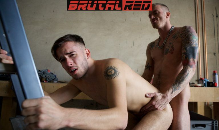 Rough Workplace: AJ Alexander Barebacks David Luca 3