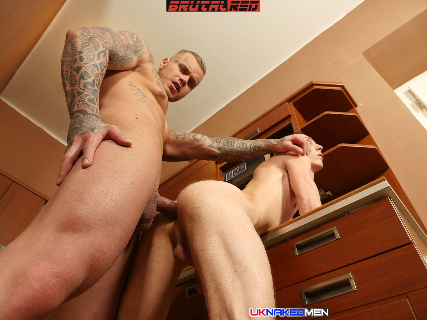 Mario Gibson Gets Barebacked By Ryan Cage 1