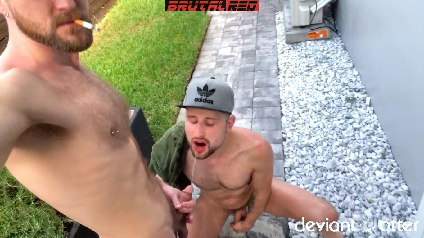 Drew Dixon - Bareback and Pissing Foursome 5
