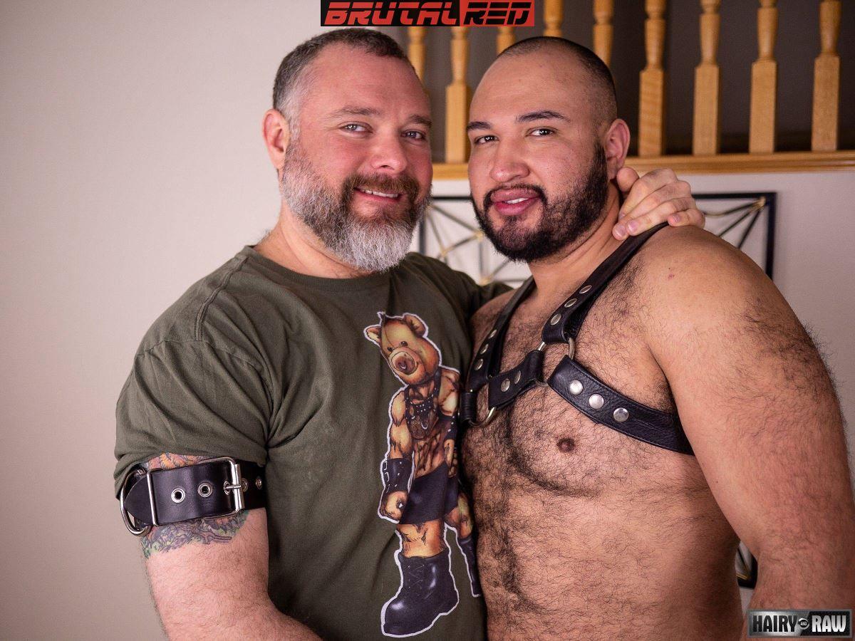 Leather Bears Fuck:  Angel Ferrari and Kurt Jacobs