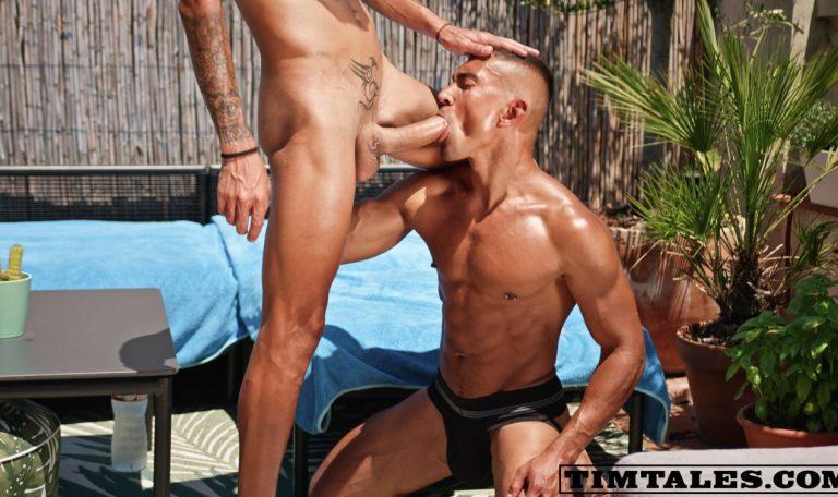 Franklin Acevedo Plows Jay Michaels' Ass