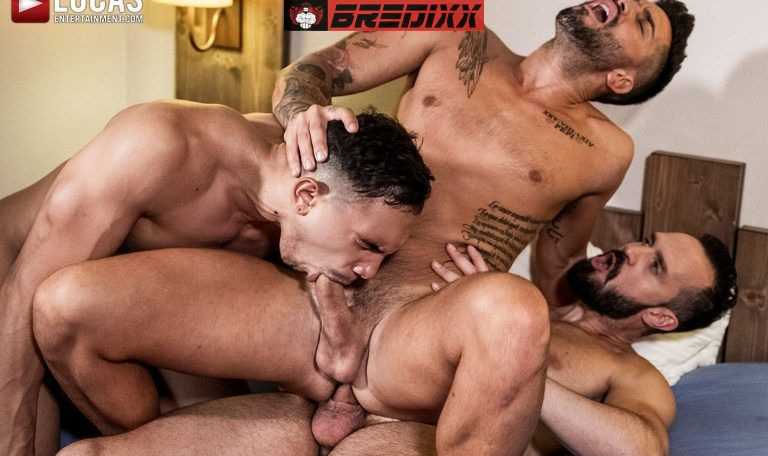Andy Onassis, J Anders & Andrea Suarez - Raw Fuckers 1