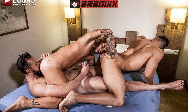 Andy Onassis, J Anders & Andrea Suarez - Raw Fuckers 3