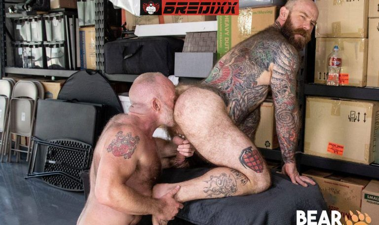 Bear Films: Jake Dixon and Johnny Pierce - Muscle Bears Fuck 1