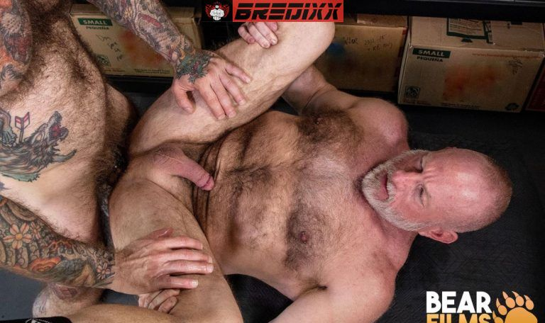 Bear Films: Jake Dixon and Johnny Pierce - Muscle Bears Fuck 4