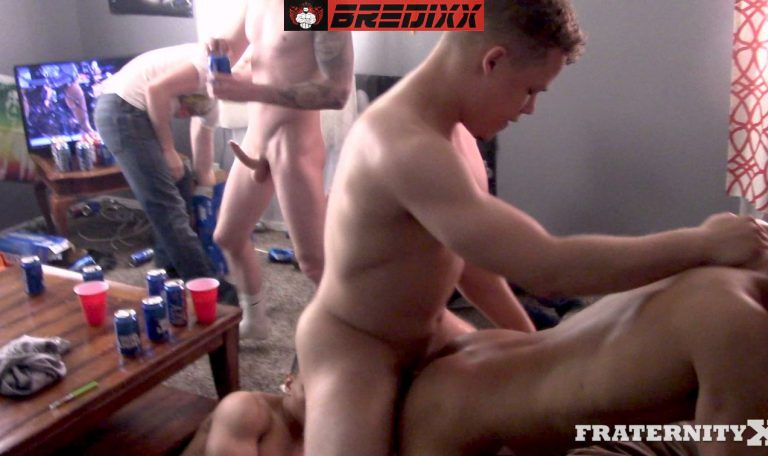 Fraternity X: Ten Cocks Fuck One Hole - The Ultimate Bareback Orgy 3