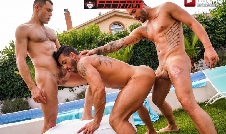 Pool Party: James Castle, Andrea Suarez and Andy Star 1