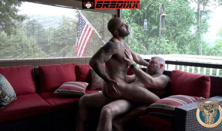 Atlas Grant Gets Bred By Will Angel for Muscle Bear Porn 5