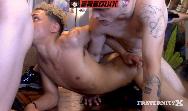 Fraternity X - Get Drunk and Fuck - Bareback Orgy 2