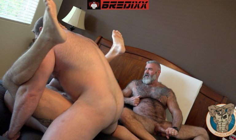 Teddy Hunter Joins Muscle Bears Will & Liam Angell 2