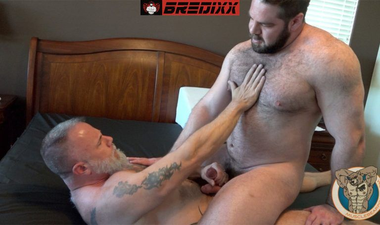 Teddy Hunter Joins Muscle Bears Will & Liam Angell 5