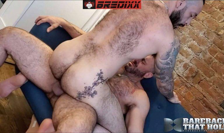 Beefy Bears Alex Tikas and Julian Torres Fuck Raw 3