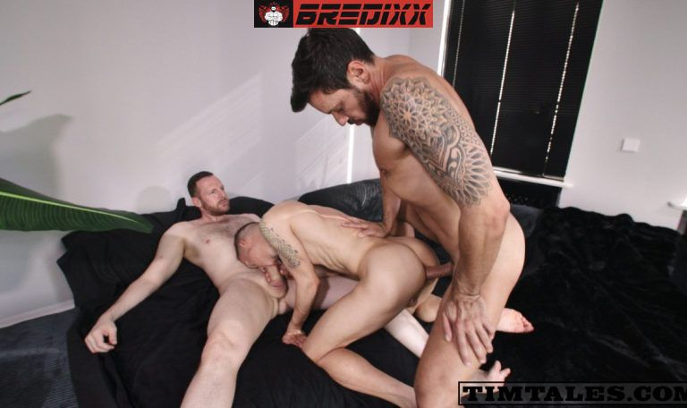 Michl Amundson Double Fucked By Gaucho & Tim Kruger 1