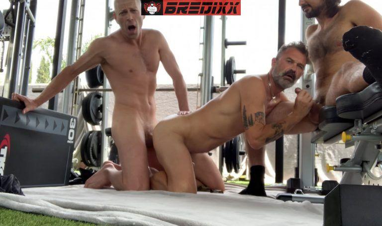 Threesome with Big C, Mason Lear & Clint Weller 5