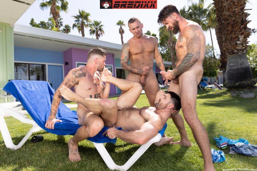 Chris Damned, Isaac X, Beau Butler & Alpha Wolfe - Get A Room Too 3