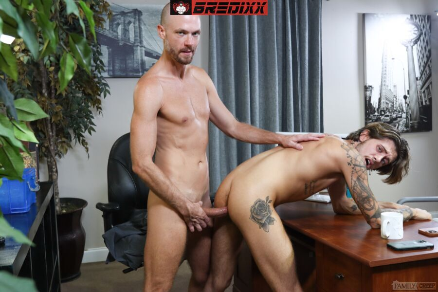 Horny Skinhead Ryan Kneeds Fucks Jake Lawrence 1